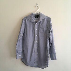 Men's Lauren Ralph Lauren White\Blue Dress Shirt